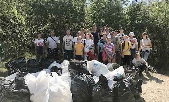 Итоги акции по очистке водоохранной зоны реки Черная