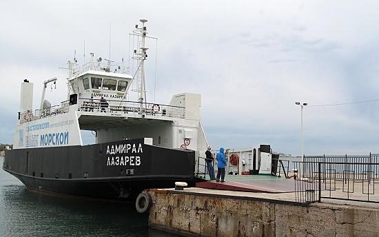 Севастопольский морской порт восстановил паромное сообщение между Артбухтой и Северной стороной