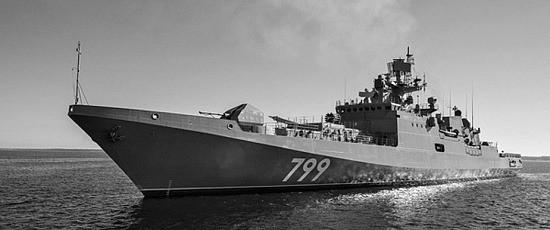 Фрегат «Адмирал Макаров» прибыл к месту постоянного базирования