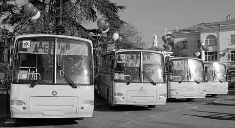 Севастополь получит 17 новых школьных автобусов