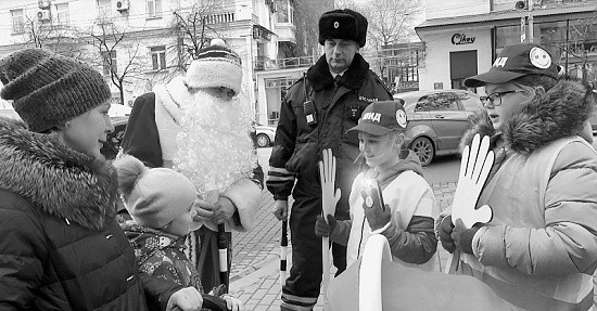 """В Севастополе прошла акция """"Фонарик безопасности"""""""