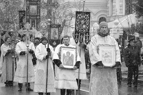 В Севастополе прошёл Рождественский Крестный ход