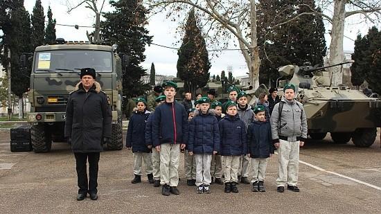 дети у военных