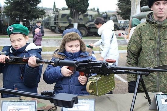 выставка оружия