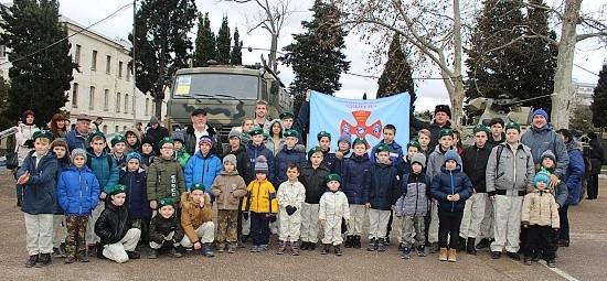 дети в армии