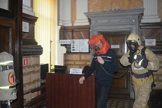 Спасение на пожаре Севастополь