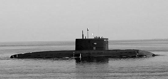 Подводная лодка «Старый Оскол» вышла в море