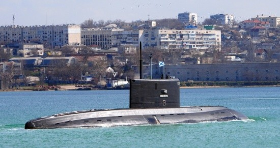 Дизельная подводная лодка «Великий Новгород»
