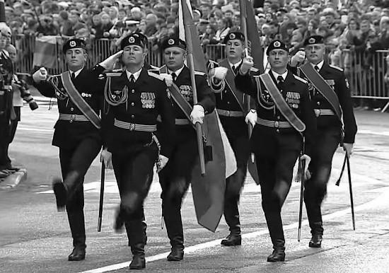 В Севастополе начались сводные тренировки парадных расчётов