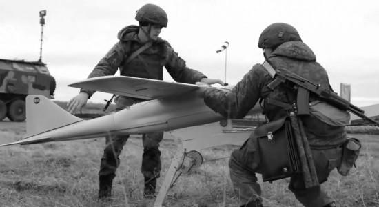 Черноморские артиллеристы проводят учения с использованием БЛА