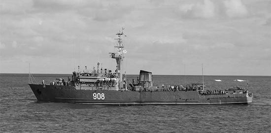 «Вице-адмирал Захарьин» начал прохождение проливов