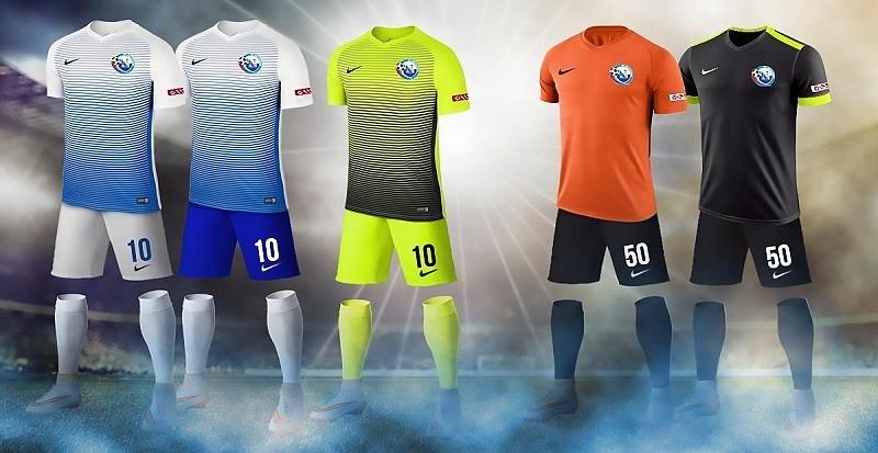 ФК «Севастополь» представил игровую форму на сезон