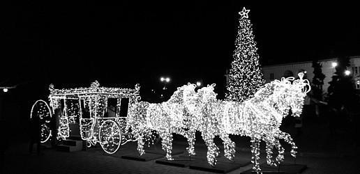 Севастополь скоро начнут украшать к Новому году