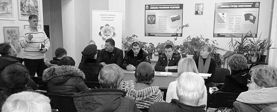 Полиция приняла участие в совещании Союза садоводов России
