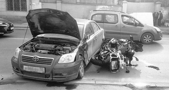 Произошло два ДТП с участием мотоциклов