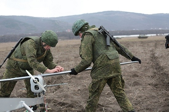 В Крыму прошли учения с применением беспилотных летательных аппаратов