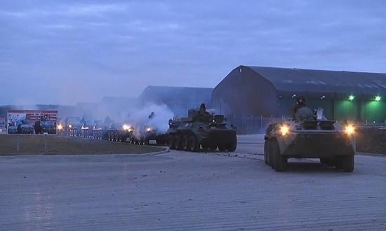 Подразделения армейского корпуса ЧФ подняли по учебной тревоге