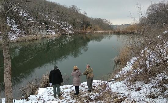 водохранилище в Севастополе