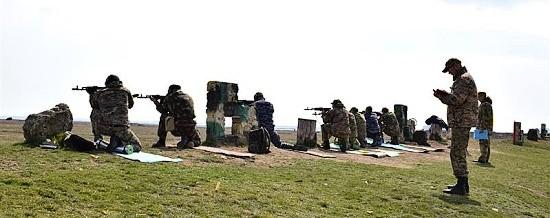 полигон в Крыму