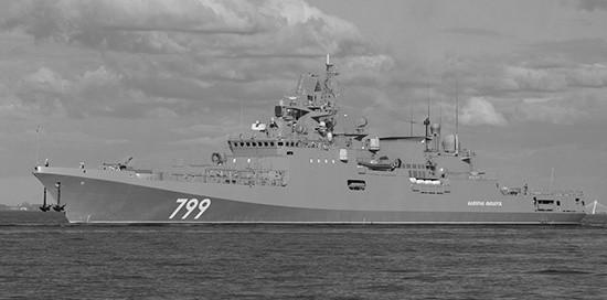 Фрегат «Адмирал Макаров» прибыл в Севастополь