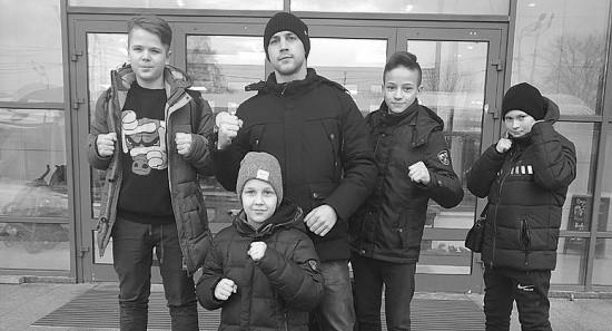 Юные рукопашники выступили на Всероссийском турнире
