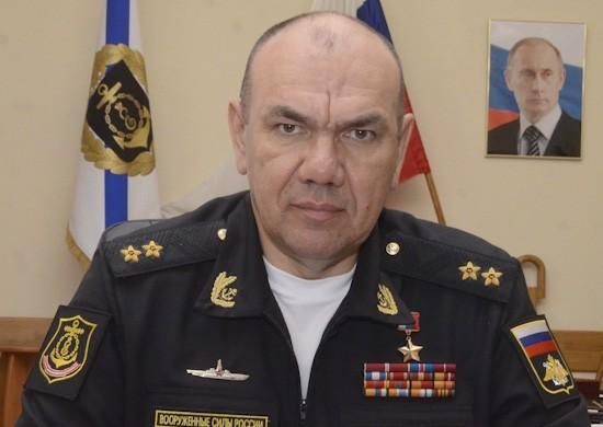 Командующий Черноморским флотом Моисеев