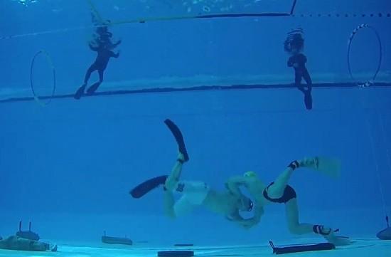В Севастополе определили лучших водолазов в подводной борьбе