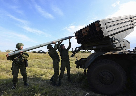 Более тысячи артиллеристов Черноморского флота принимают участие в лагерном сборе