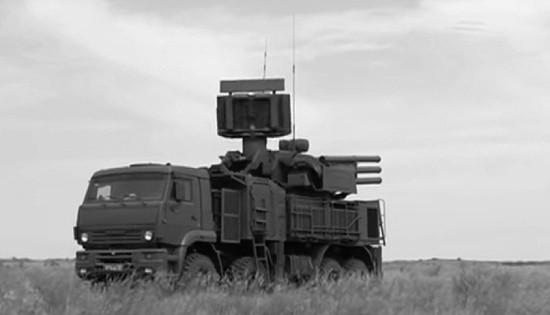 Боевые расчёты ЗРПК «Панцирь» провели учение в Крыму