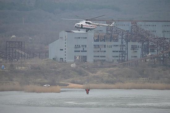 пожарный вертолет Крым