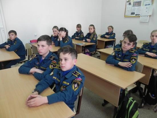 кадеты МЧС Севастополь