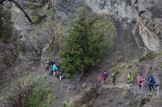 поход в горы Крыма