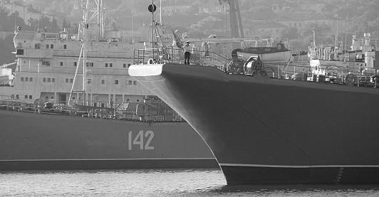 Корабли вернулись в Севастополь после ракетных стрельб в море