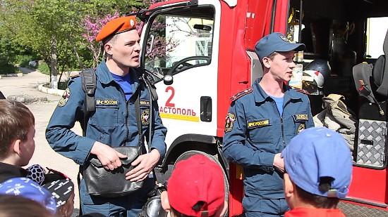 пожарные в Севастополе