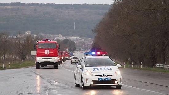 колона МЧС Крым