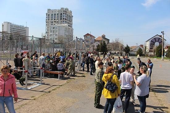 рукопашный бой Крым