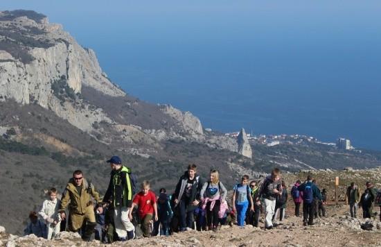 в горы Крым