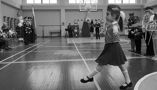 В Севастополе прошел конкурс строя и песни «Весна Победы»