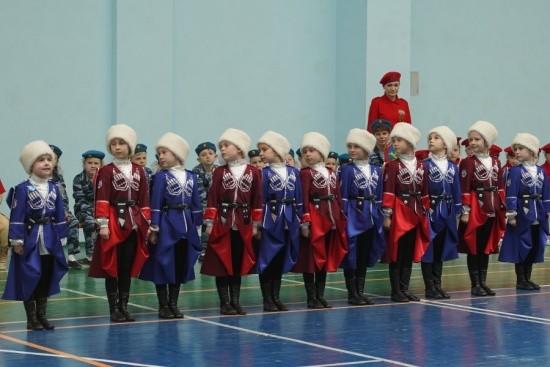 юные казаки