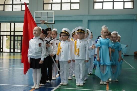 конкурс строя и песни Севастополь
