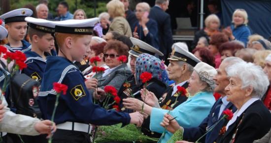 цветы ветеранам