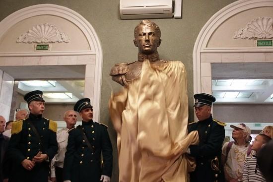 В Севастополе установлен бюст Александру Казарскому