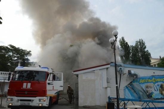 Севастополь пожар