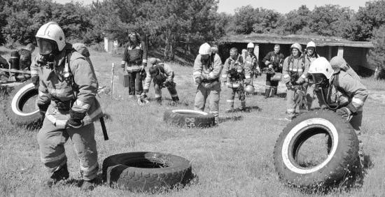 Севастопольские спасатели оттачивают профессионализм