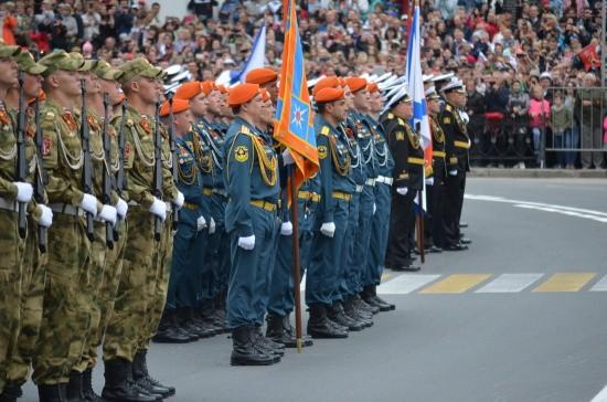 Парад в Севастополе