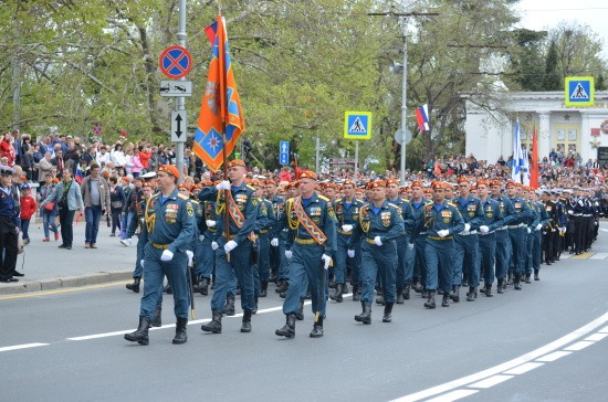 МЧС Парад