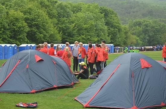 палатки в Крыму