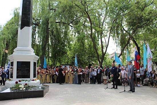 мемориал депортированным народам Крыма