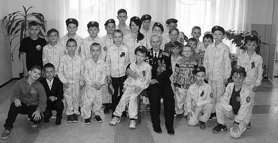 Урок мужества для юных спортсменов Севастополя