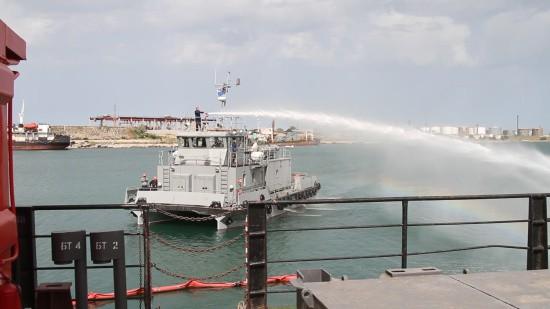 пожарный корабль